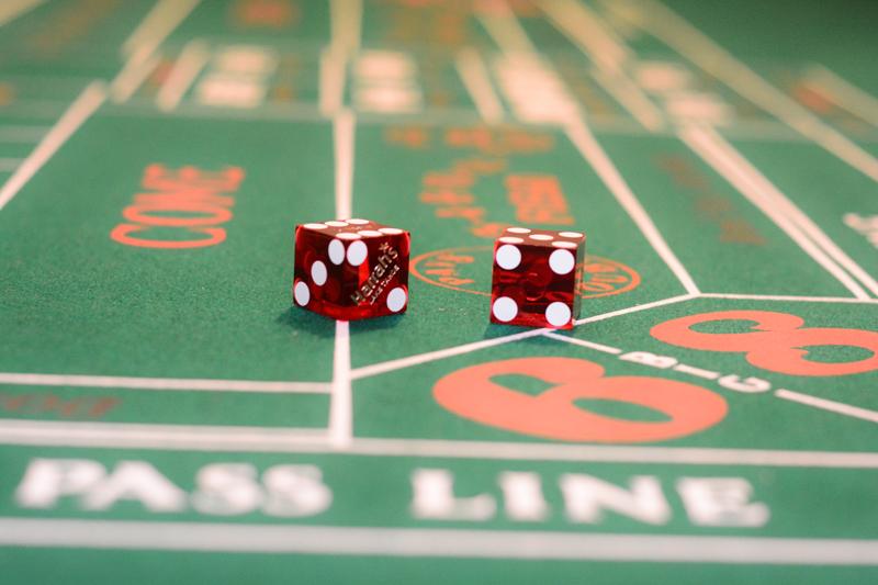 Craps mieten - für Ihre Casinonacht.